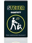 Quartett KU1337 - Steuerquartett, Das Kartenspiel für Erwachsene mit Wutanfallgarantie, lustiges Gesellschaftsspiel als Geschenk-Idee (48 Karten) - 2